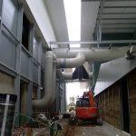 Luftsystem Biorotteanlage