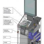 Geldautomat Gehäuse